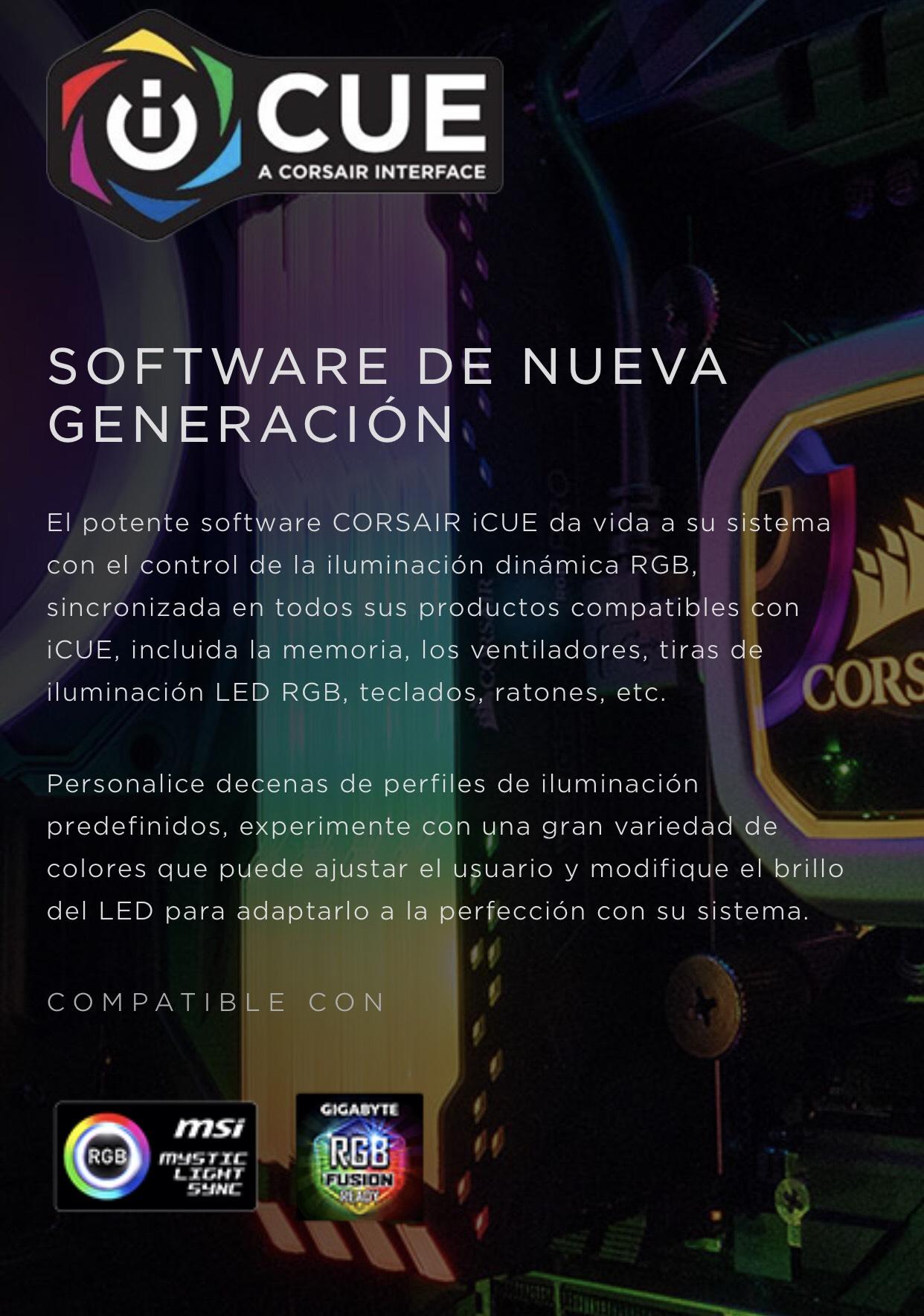 Corsair Vengeance RGB Pro - 16 GB (2 x 8 GB), DDR4, 3200 MHz, C16