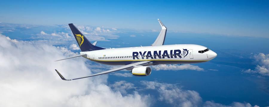avión Ryanair vuelos