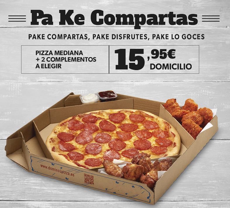 Domino´s Pizza_promocion pa k compartas