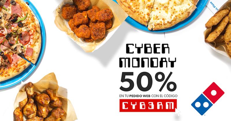 Domino´s Pizza_descuentos Cyber Monday