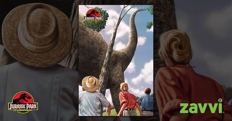 Zavvi_poster collecionista Jurassic Park