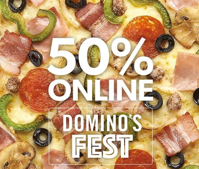 Domino´s Pizza_descuento Dominos fest