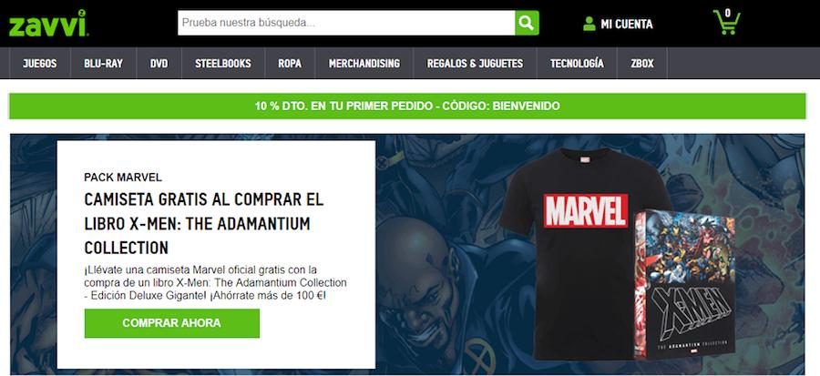 Zavvi_promociones tienda online