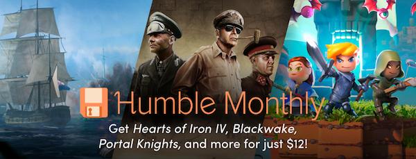 Humble Monthly_suscripciones beneficios mensuales