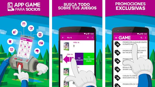 aplicación Game