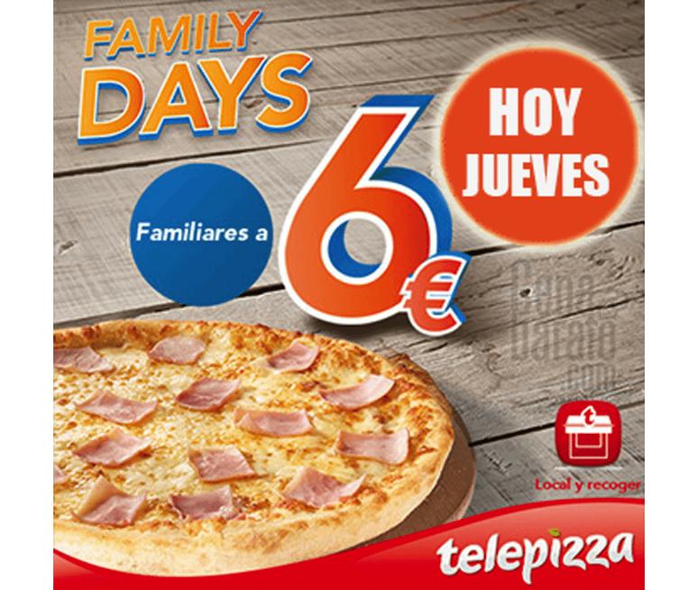 Telepizza_Chollometro_telepizza_family_days_ofertas_jueves