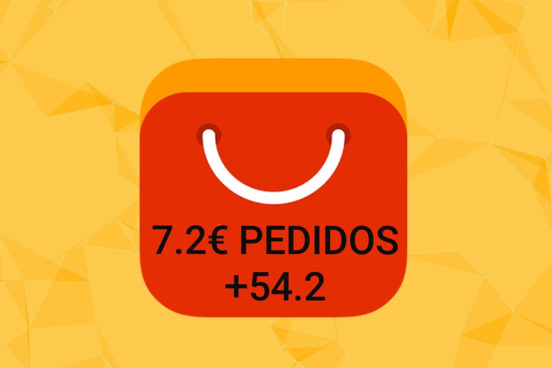 Nuevo cupón 7.2€ en pedidos +54.2€