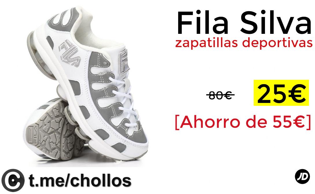 Deportivas 25€ Silva Fila Zapatillas Solo SMqUVpzG