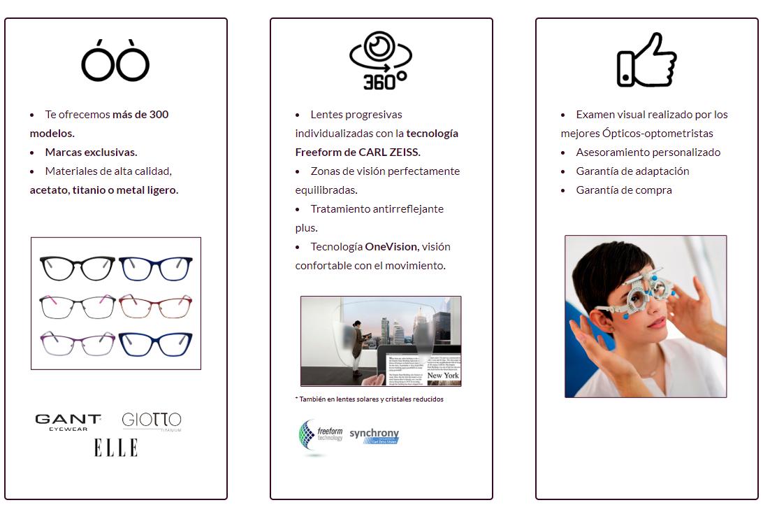 10ddc70f59 LOOKTIC - Gafas progresivas de marca con los mejores cristales ...