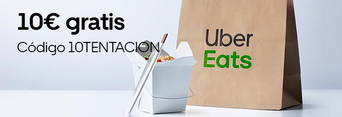 10€ de descuento para nuevos usuarios de Uber Eats