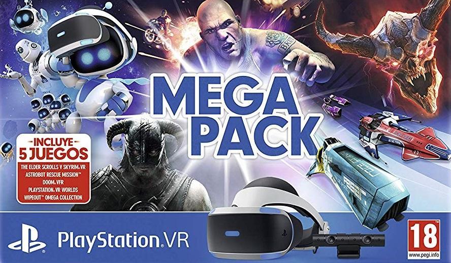 Mega Pack Vr Playstation 4 Ps4 Chollometro Com