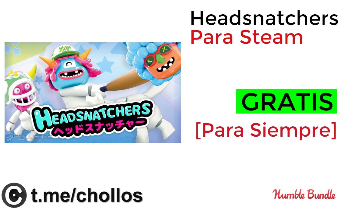 Headsnatchers Para Steam GRATIS