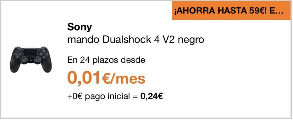 Dualshock 4 V2 para clientes Orange