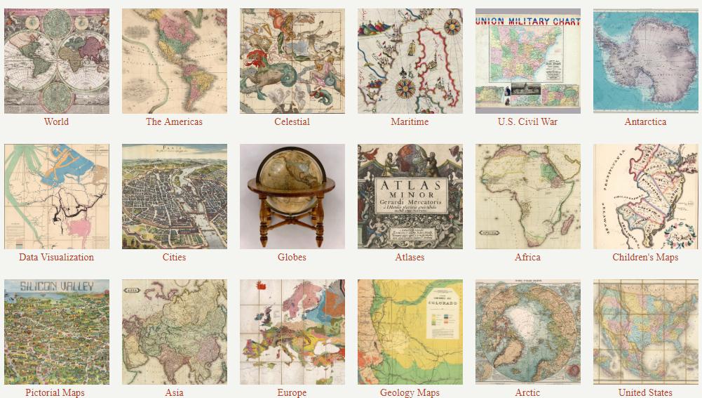 Gratis, más de 92000 mapas con 400 años
