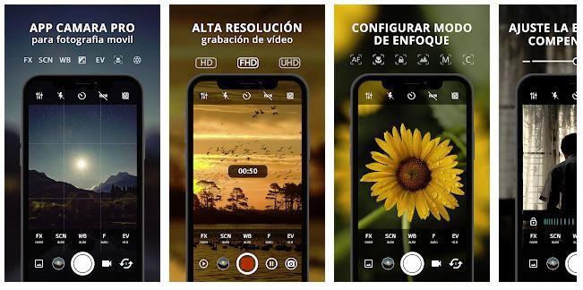 HD Camera Pro : Best Professional Camera App
