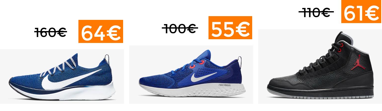 50% + 20% EXTRA + Envío Gratis en Nike