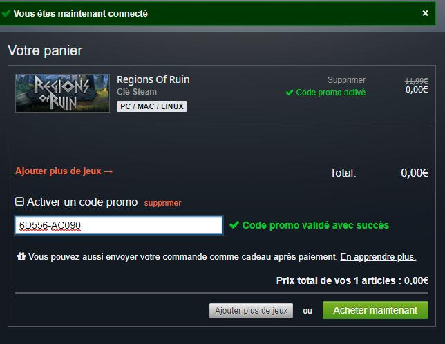 Regions of Ruin, gratis (Steam)