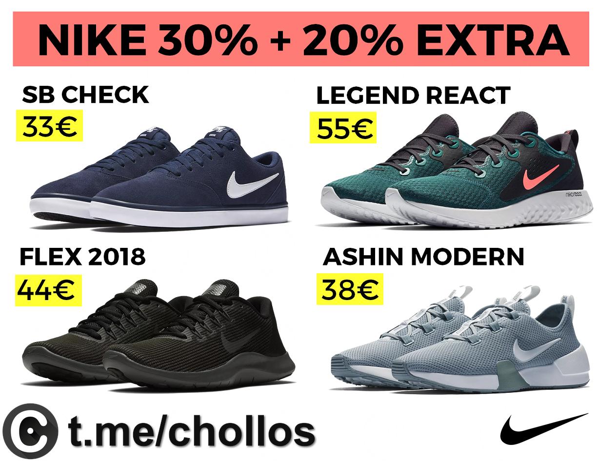 677485af1d5e4 30% en NIKE + 20% EXTRA + Envío Gratis - chollometro.com