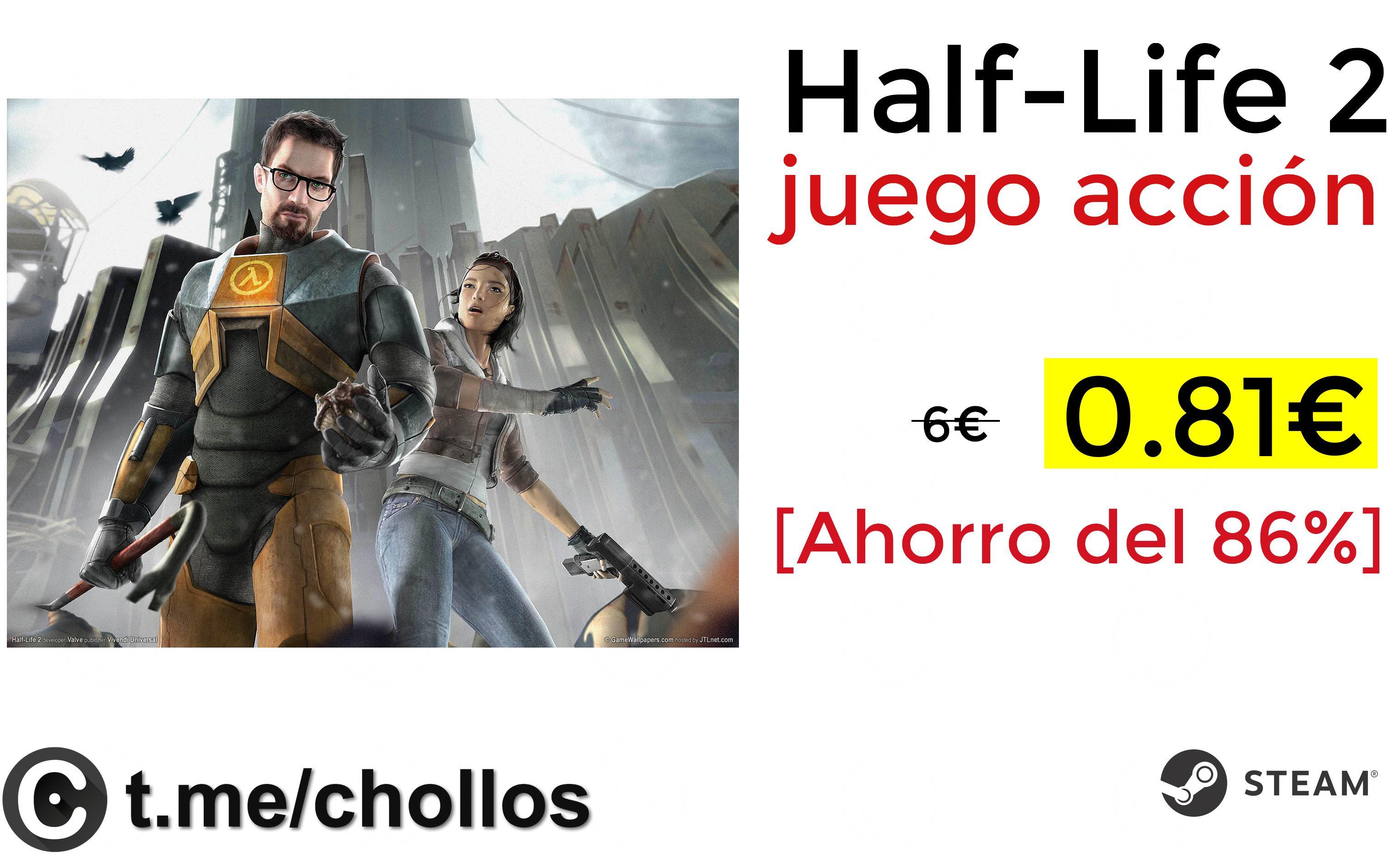 Half-Life 2 juego acción solo 0.81€