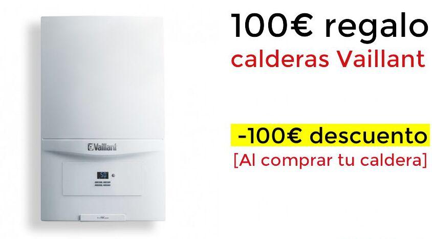 Compra una caldera Vaillant y recibe 100€