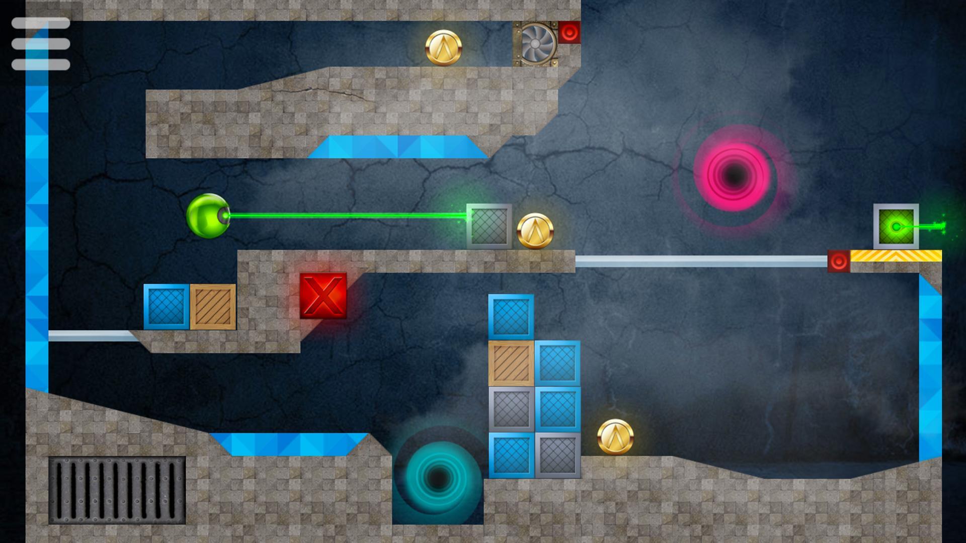 ANDROID: LASERBREAK 2 Pro, LASERBREAK Escape y HEXASMASH 2 • Ball Shooter Physics Puzzle (GRATIS)