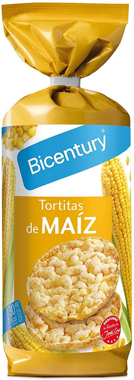 Pack 6 Bicentury Tortitas De Maiz Con Sal Menos De 1 Euro Cada