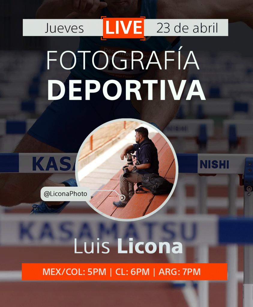 cursos de fotografia deportiva gratis