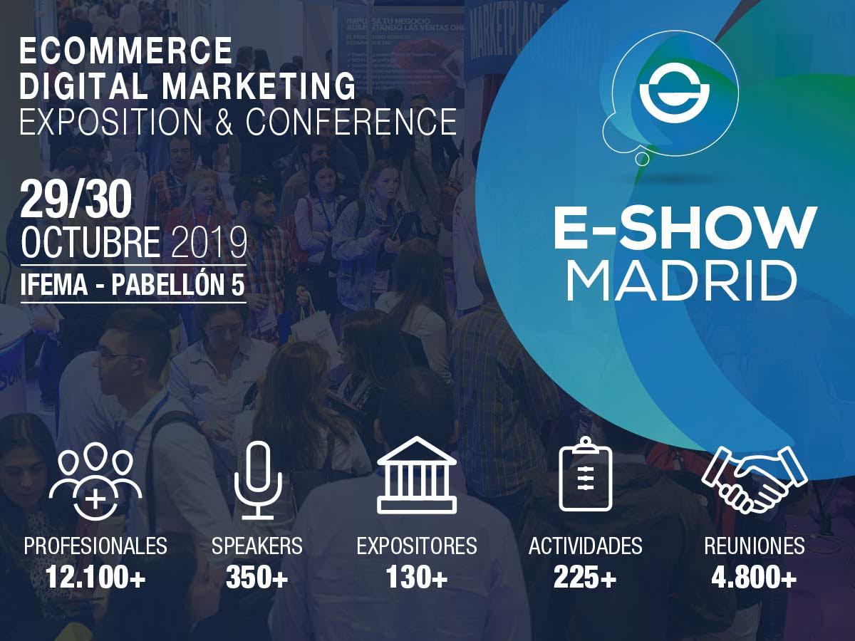 Invitación gratuita pàra E-Show Madrid por BigBuy