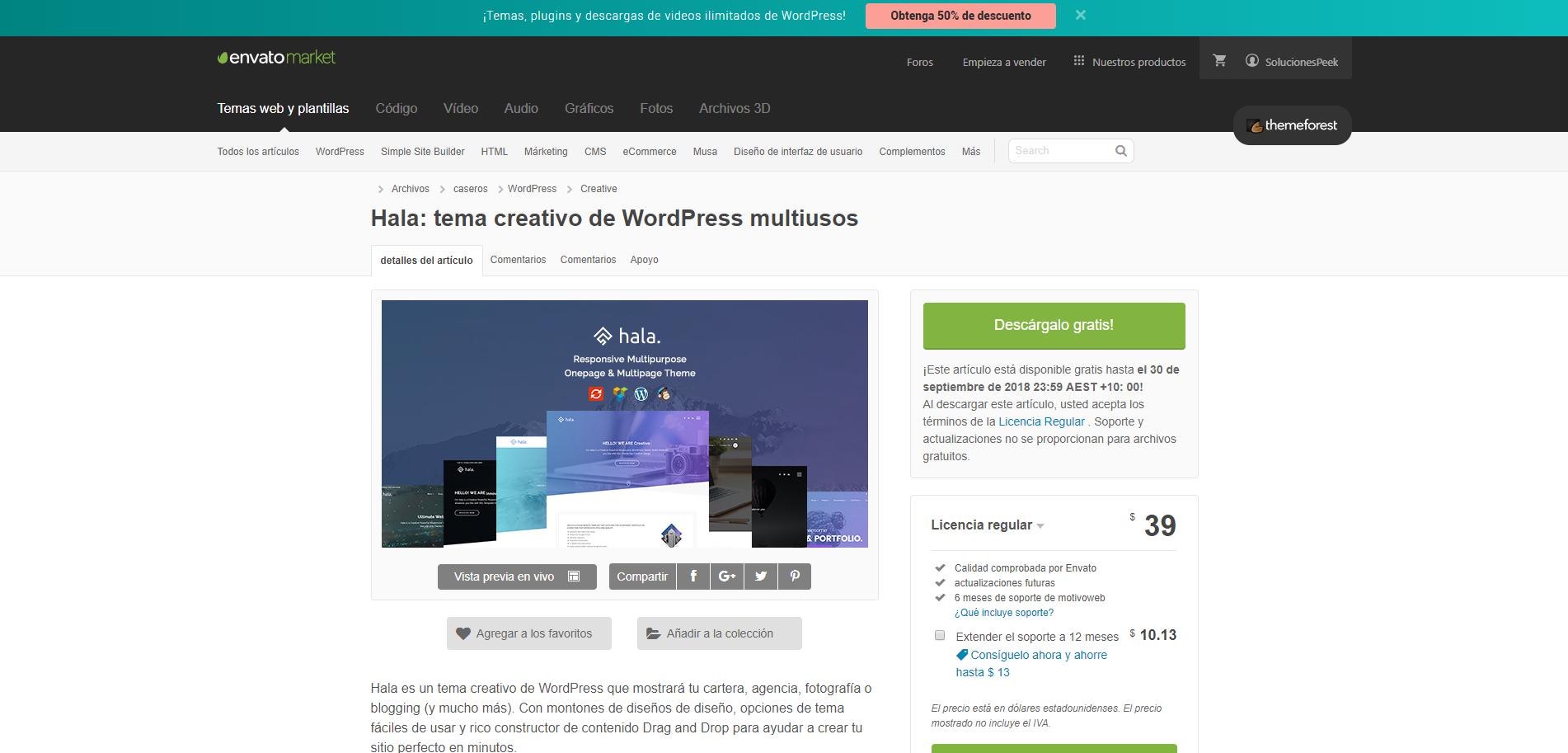 Nuevas plantillas Wordpress gratis! - chollometro.com