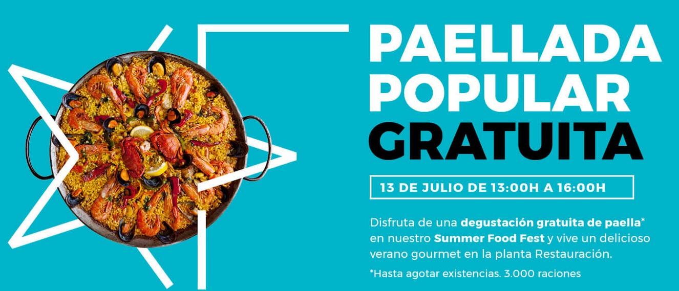 Paellada GRATUITA Esplugues de Llobregat Barcelona