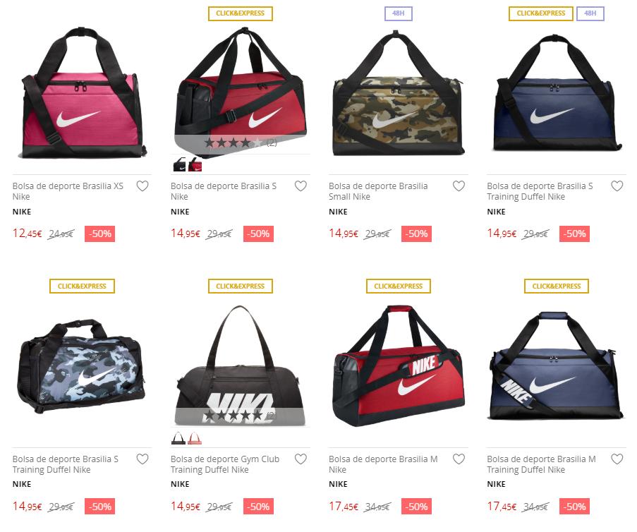 Bolsa Deporte Nike Deporte Nike De 50corteinglés Bolsa De shdCrxtQ