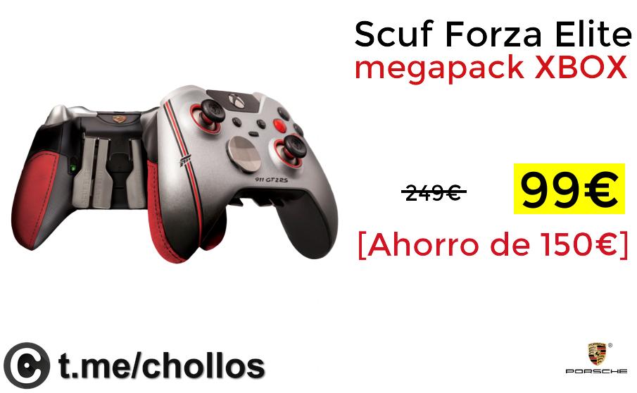 Megapack , Porsche Scuf Forza Elite XBOX solo 99