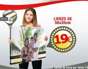 Lienzo con foto  50cm x 35cm