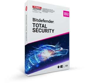 Licencia Antivirus Bitdefender TOTAL SECURITY (6 meses) GRATIS