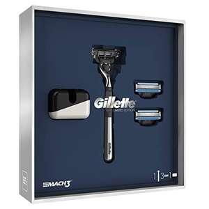 Gillette – Mach 3 Kit Edición Adamascado afeitadora