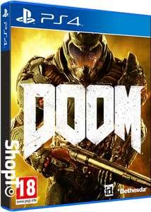 Doom juego de PS4 + gastos de envío