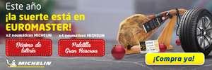 EUROMASTER: Décimo de lotería o paletilla gran reserva GRATIS con Michelín