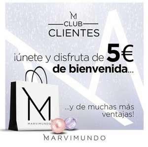 5 euros gratis en perfumería Marvimundo