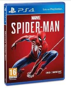 Spiderman para PS4 precio minimo