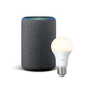 Bombilla inteligente Philips Hue Gratis al comprar Amazon Echo Plus