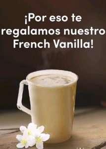 Café French Vainilla GRATIS en Tim Horntons 7 y 8 de Enero