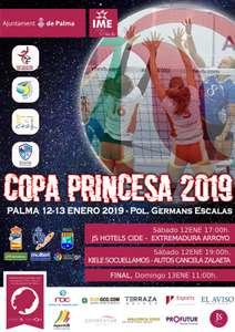 Entrada gratuita Voleibol Copa Princesa 2019 en Palma de Mallorca