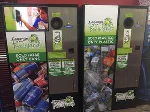 ¡Gana dinero reciclando tus envases vacíos! Máquinas Ganamosreciclando