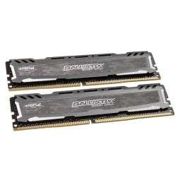 RAM DDR 4 Ballistix Sport LT Series grau, 3000 MhZ , CL16 - 16 GB Dual-Kit