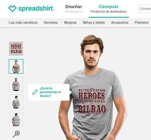 20% de descuento en camisetas