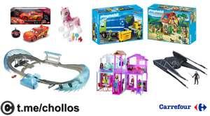 Liquidación entre 30% y 70% en juguetes
