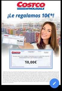 10€ Gratis para Costco