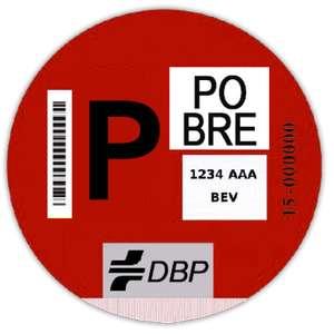 Distintivo ambiental DBP (para quien no se pueda permitir el de la DGT)