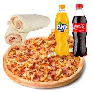 Telepizza 5 ingredientes 7,95€