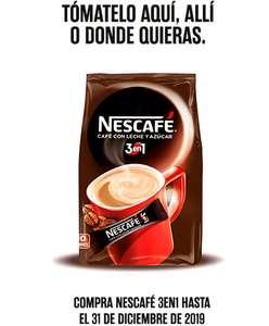 Compra Nescafé 3en1 y obtén el rembolso